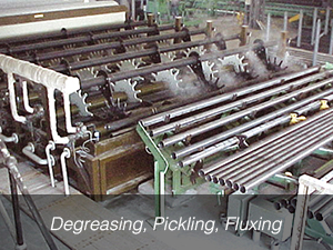 Degreasing, Pickling, Fluxing