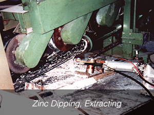 Zinc Dipping, Extracting